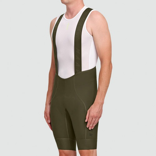 TEAM BIB SHORT EVO OLIVE