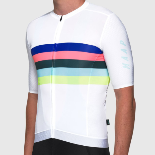 NEW WORLD PRO HEX JERSEY WHT