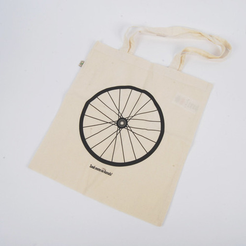LMNH Bike Wheel Tote