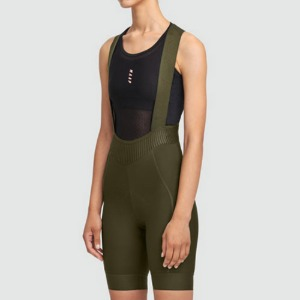 W.TEAM BIB SHORT EVO OLIVE